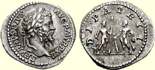 Moneta Septymiusza Sewera