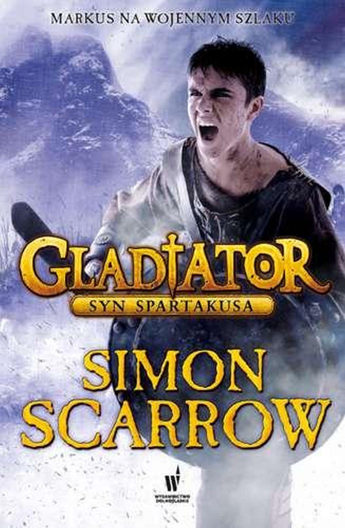 Simon Scarrow, Gladiator. Syn Spartakusa