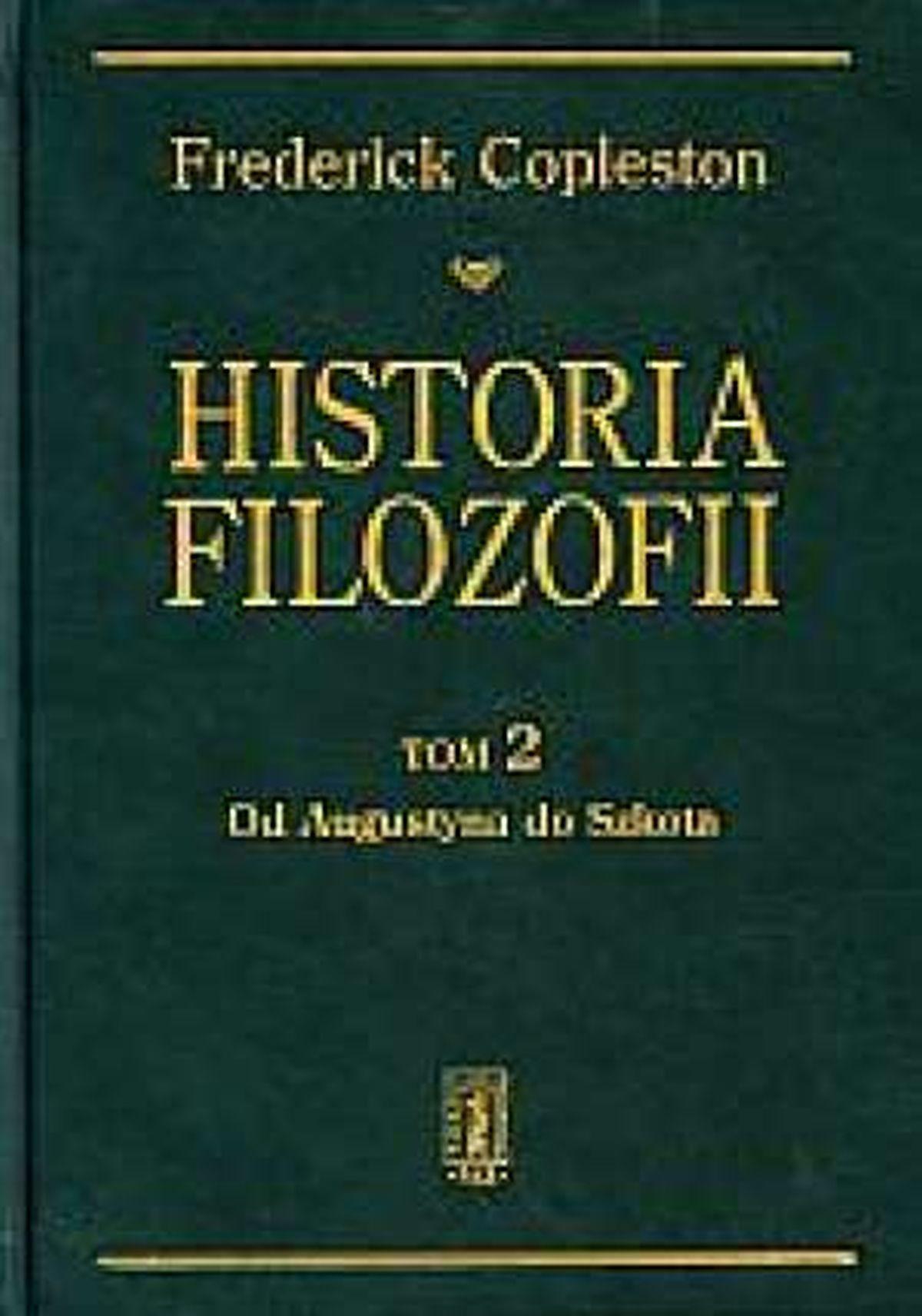 Frederick Copleston, Historia filozofii. Tom 2. Od Augustyna do Szkota