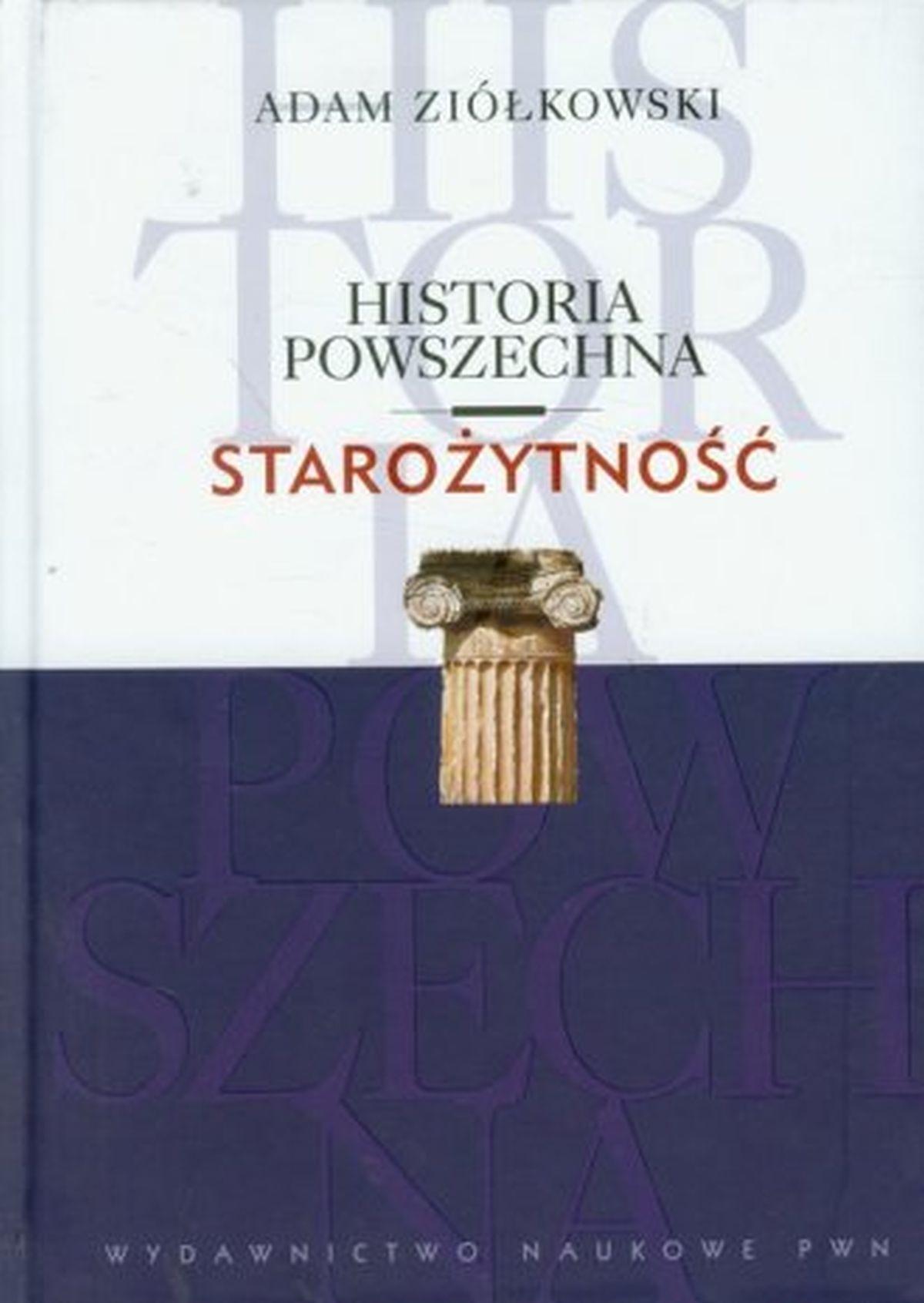 Józef Wolski, Historia Powszechna. Starożytność
