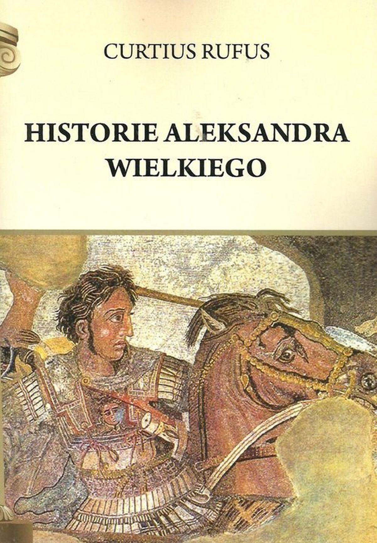 Rufus Curtius, Historie Aleksandra Wielkiego