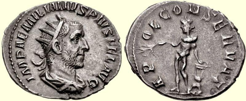 Moneta cesarza Emiliana