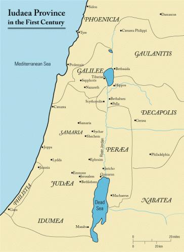Palestyna w I w. n .e.