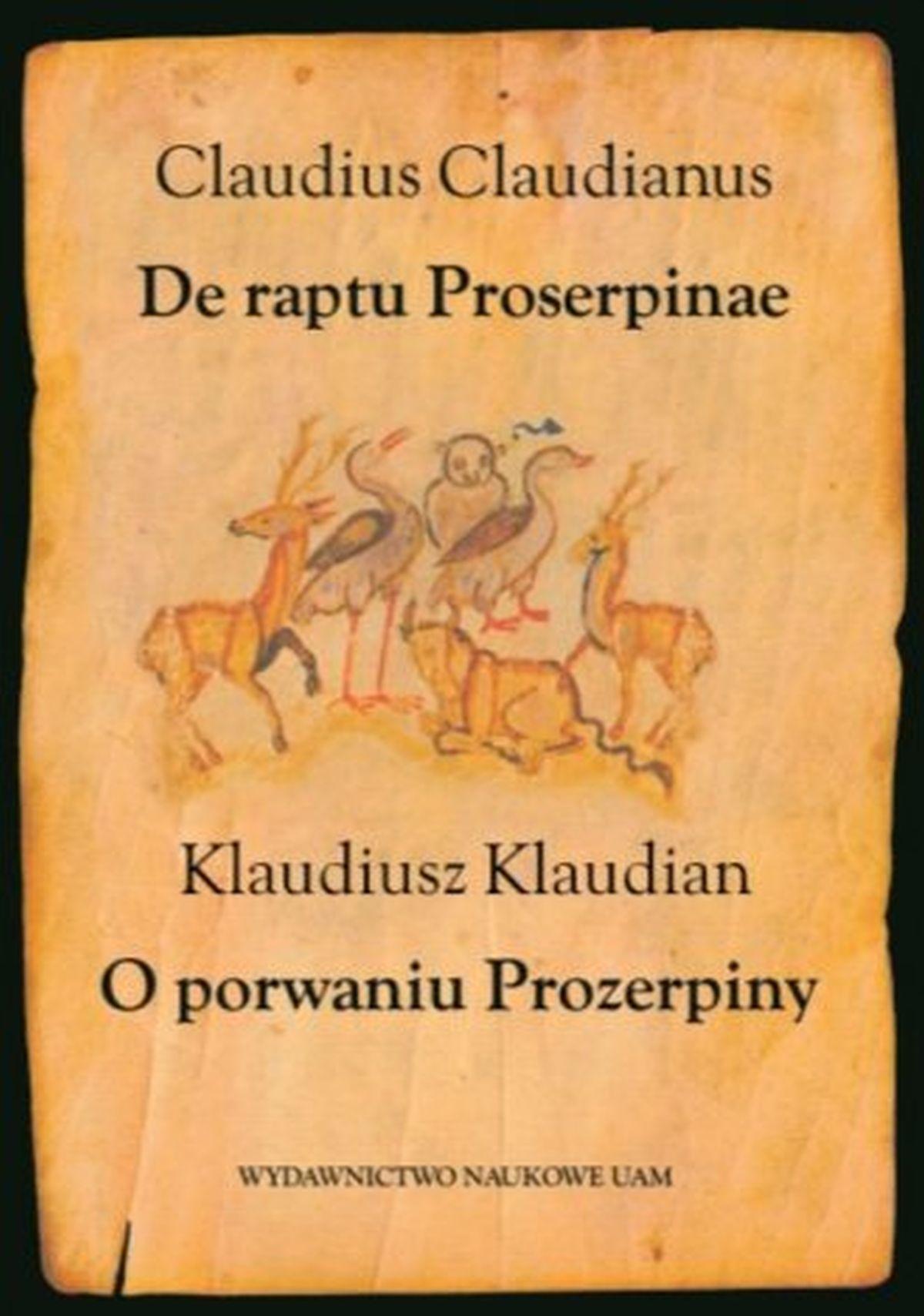 Klaudiusz Klaudian, O porwaniu Prozerpiny