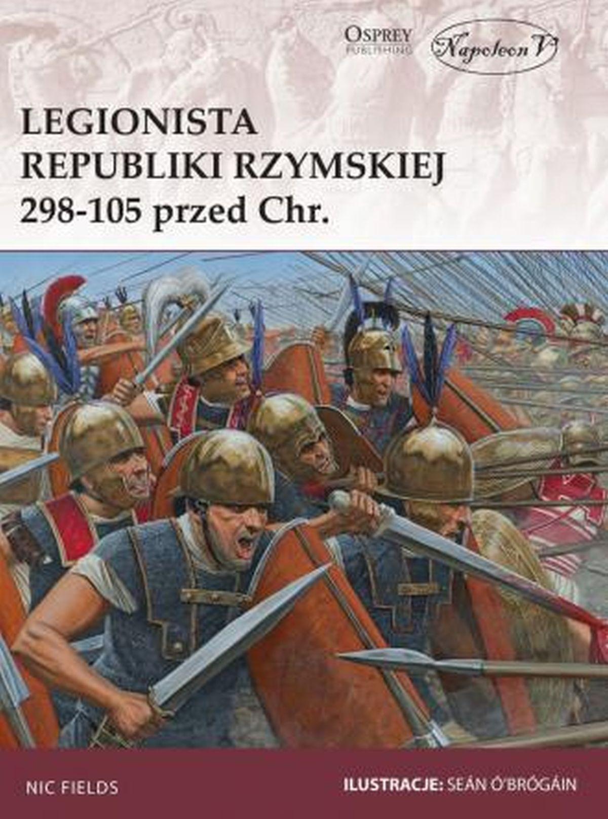 Legionista republiki Rzymskiej 298-105 przed Chr.