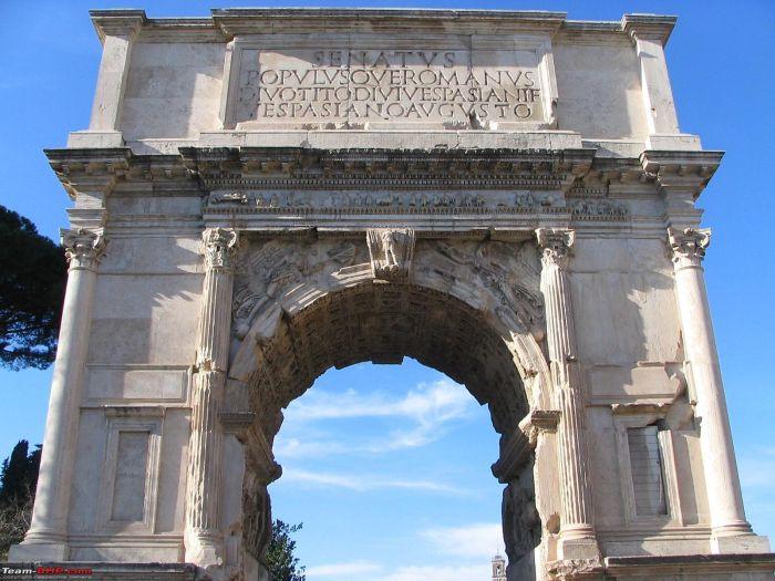 Rzymskie łuki triumfalne