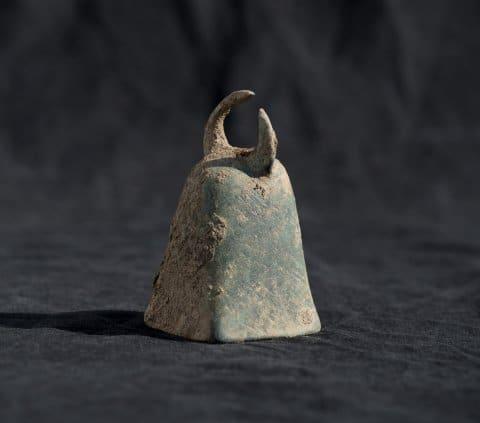 Jeden z odkrytych dzwonków