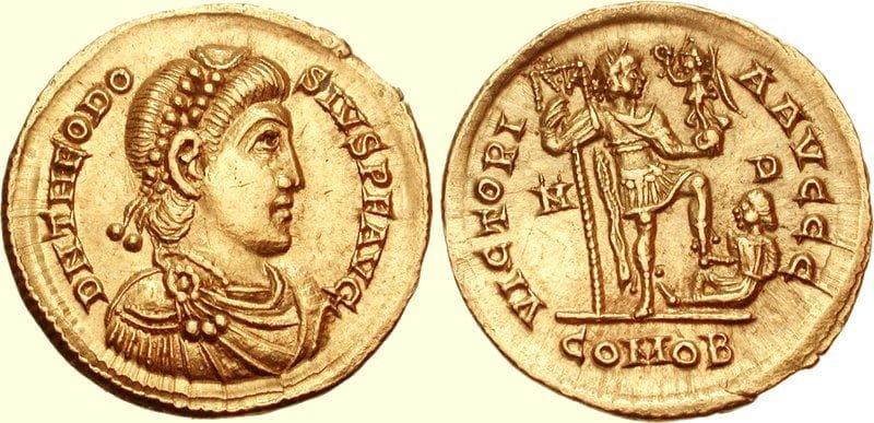 Moneta Teodozjusza I