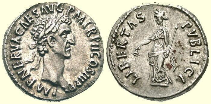 Moneta cesarza Nerwy
