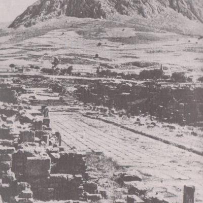 Ruiny starożytnego Koryntu
