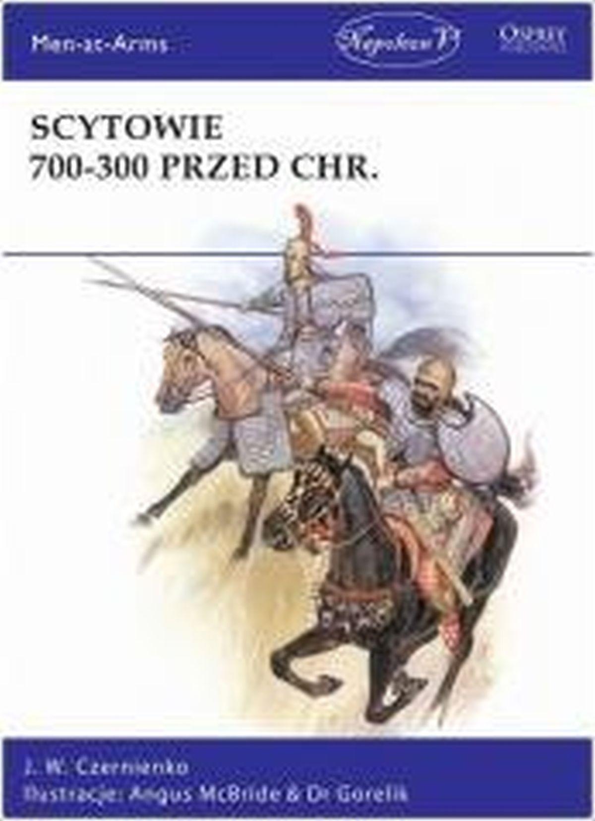 J.W. Czernienko, Scytowie 700-300 przed Chr.