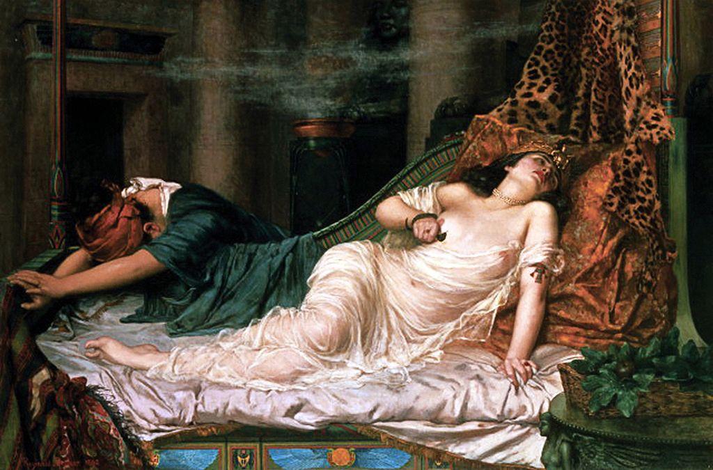 Reginald Arthur, Śmierć Kleopatry