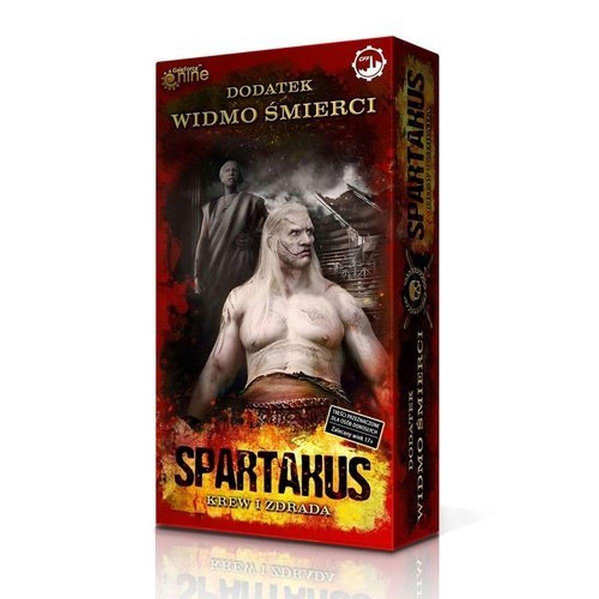 Spartakus. Widmo śmierci