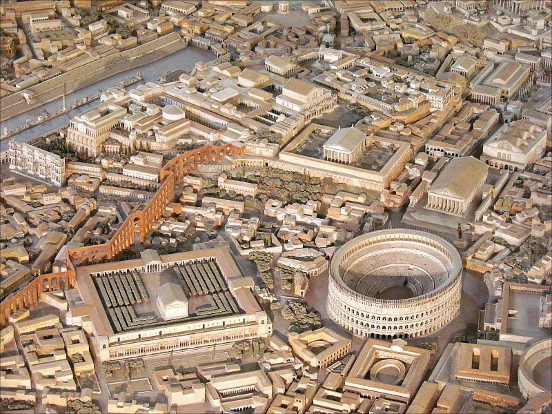 Model świątyni Klaudiusza