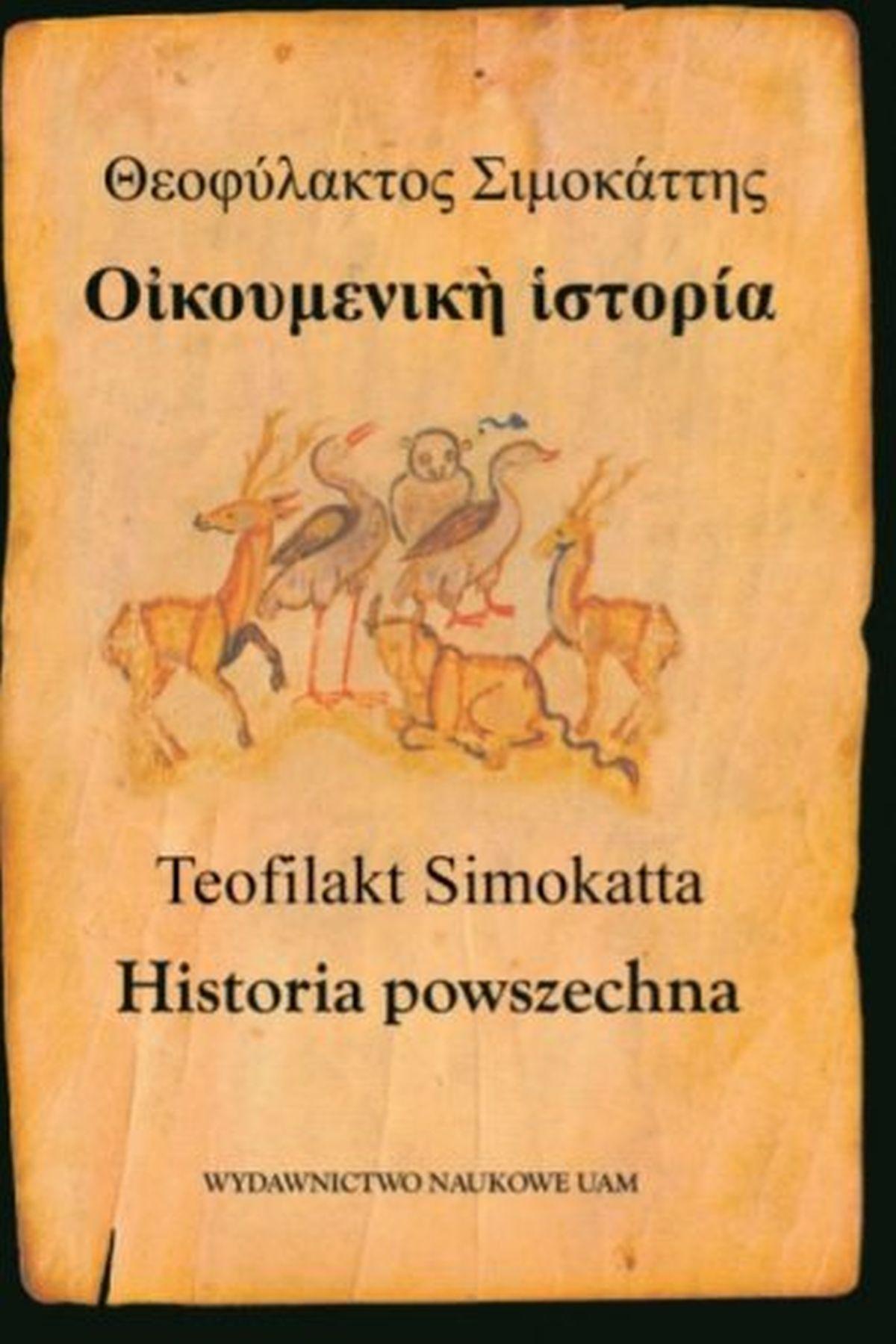 Teofilakt Simokatta. Historia powszechna