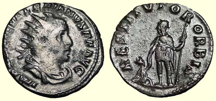 Coin of Valerian I
