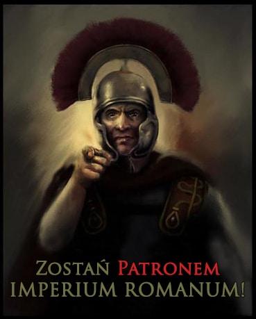 Zostań Patronem IMPERIUM ROMANUM!