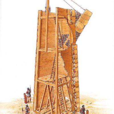 Wieża oblężnicza Rzymian