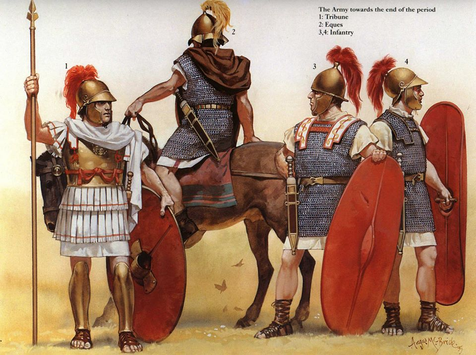 Roman troops from the times of the Republic