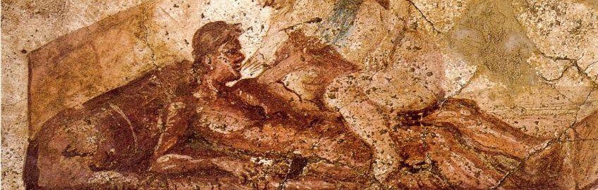 Rzymski fresk ukazujący scenę seksu