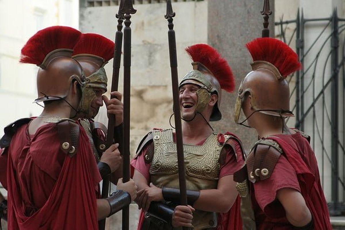 Roman sense of humor