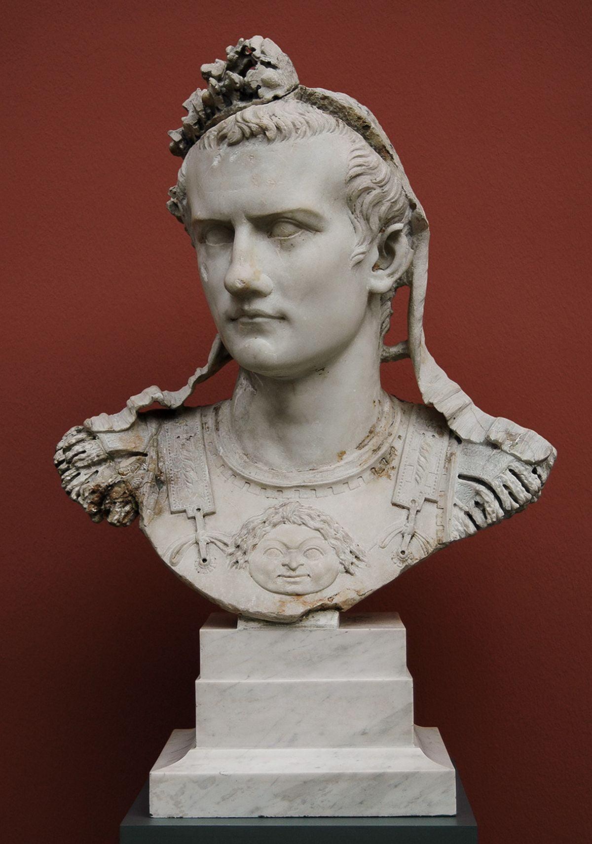 Wizerunek cesarza Kaliguli