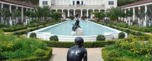 Getty Villa - a unique antique museum