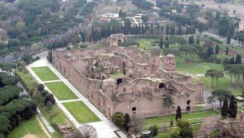 Baths of Caracalla were largest baths in empire