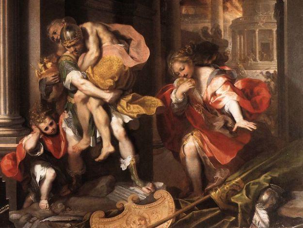 Przodkowie Rzymian wywodzą się od Eneasza