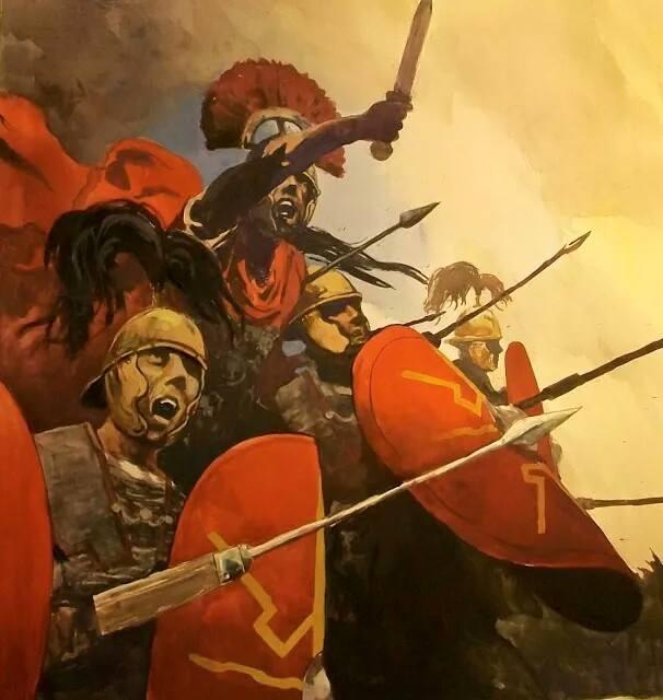 Dużą ilość rekrutów w rzymskiej armii