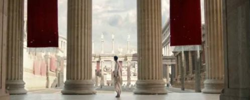 A McDonald restaurant will be built next to the Baths of Caracalla