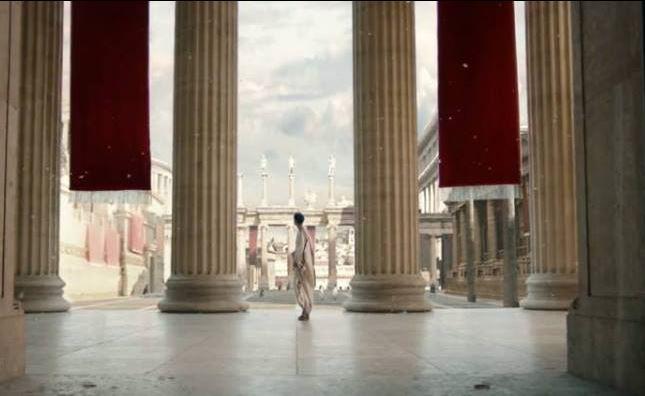 Rzymskie kolumny