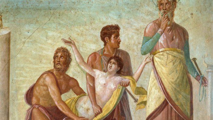 W Rzymie składano ofiary z istot ludzkich