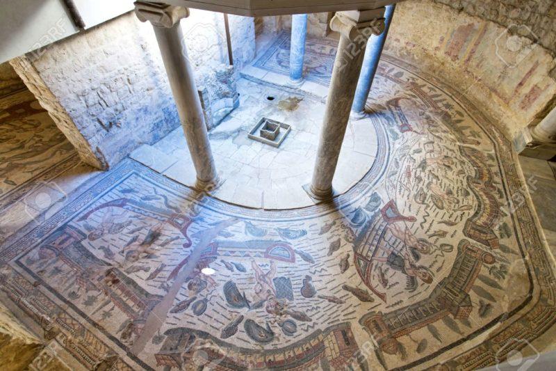 Mozaika w Villa del Casale