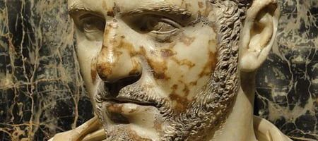 Caracalla bust from 215-217 CE