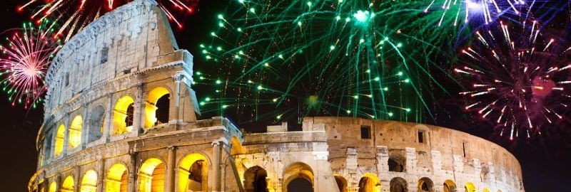 January calendars - new year in ancient Romans