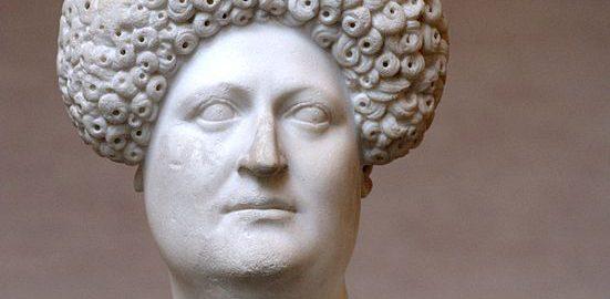 Popiersie rzymskiej kobiety z roku około 80 n.e.