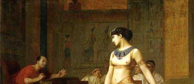 Kleopatra i Cezar, Jean-Leon-Gerome