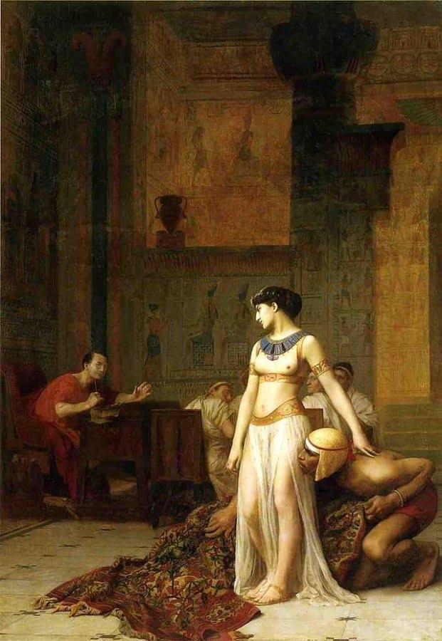 Jean-Léon Gérôme, Cleopatra and Julius Caesar