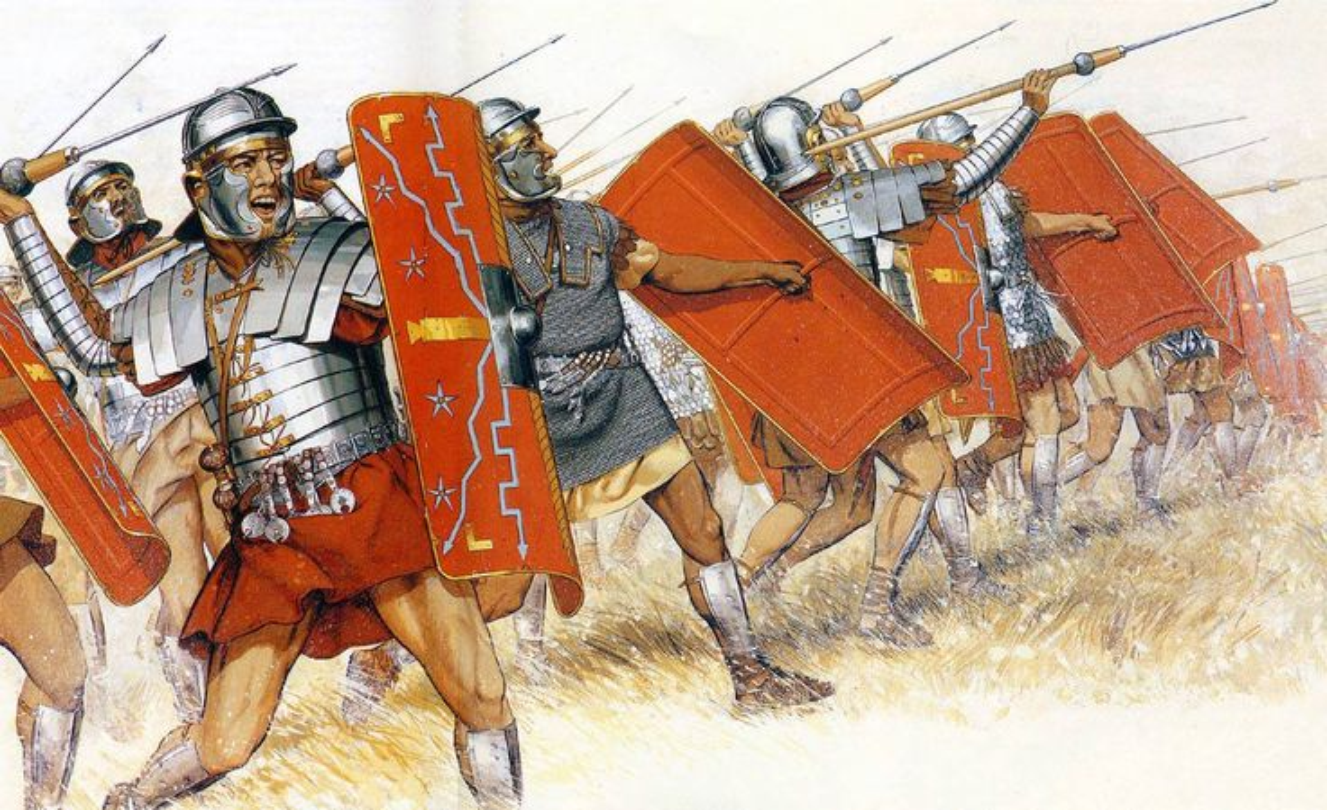 Pilum - skuteczna broń legionistów