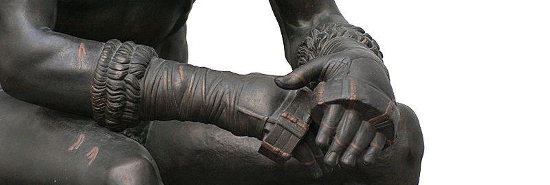 Fragment rzeźby boksera z Kwirynału