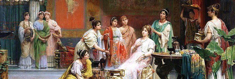 Juan Gim├ęnez Mart├şn, The Roman Lady's Toilet