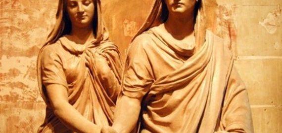 Rzymska para młoda była zwykle bardzo młoda