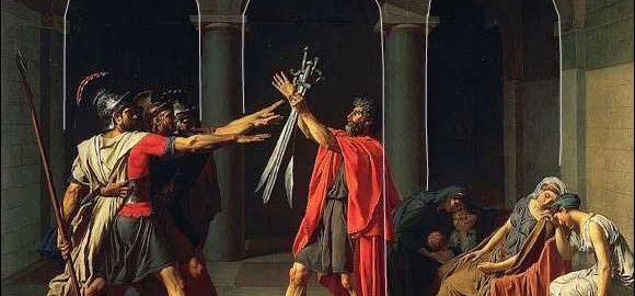 Przysięga Horacjuszy, Jacques-Louis David