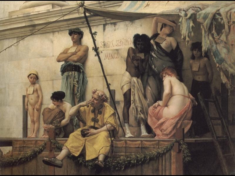 Gustave Boulanger, Targ niewolników