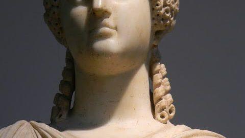 Popiersie rzymskiej kobiety