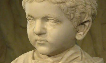Popiersie rzymskiego dziecka