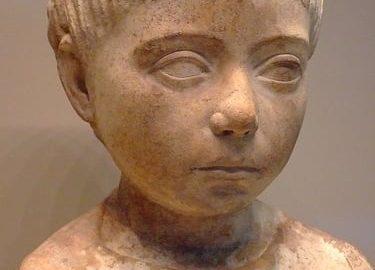 Popiersie małego dziecka z roku 75 n.e.