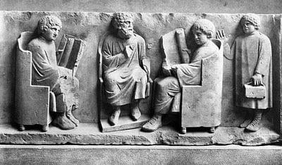Edukacja chłopców i dziewczynek rzymskich