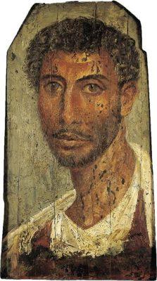 Portrait of a Fayuman man